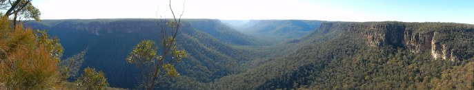 Wollondilly lookout Nattai NP