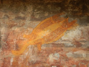 One of the many beautiful rock art sites at Kakadu NP