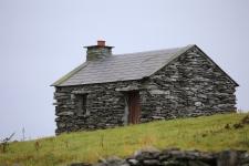 Old stone cottage, Inisheer Island